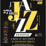 4/17(月)-4/22(土) Jazz Festival@NCCU(North Carolina Central University)