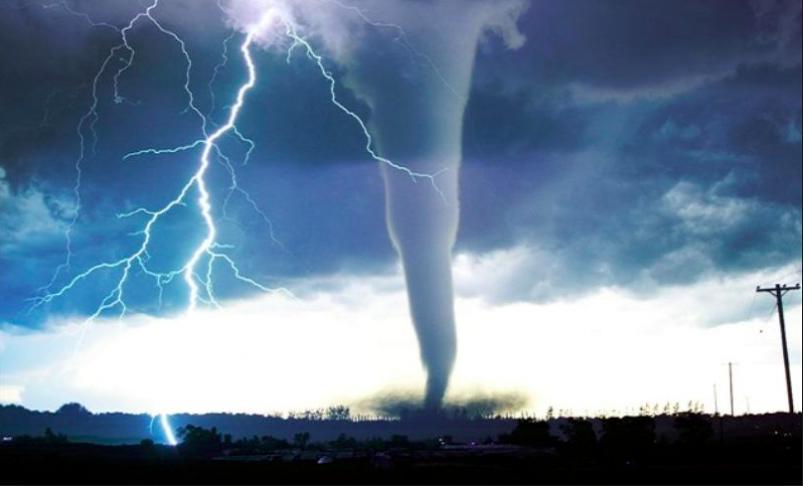 3〜6月A tornado warning 〜竜巻...